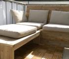 "Balkon loungebank ""Saar"" Stefan 2"