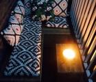 "Balkon loungebank ""Saar"" Anneke 3"