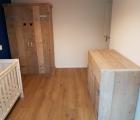 Kledingkast van steigerhout Moniek 1