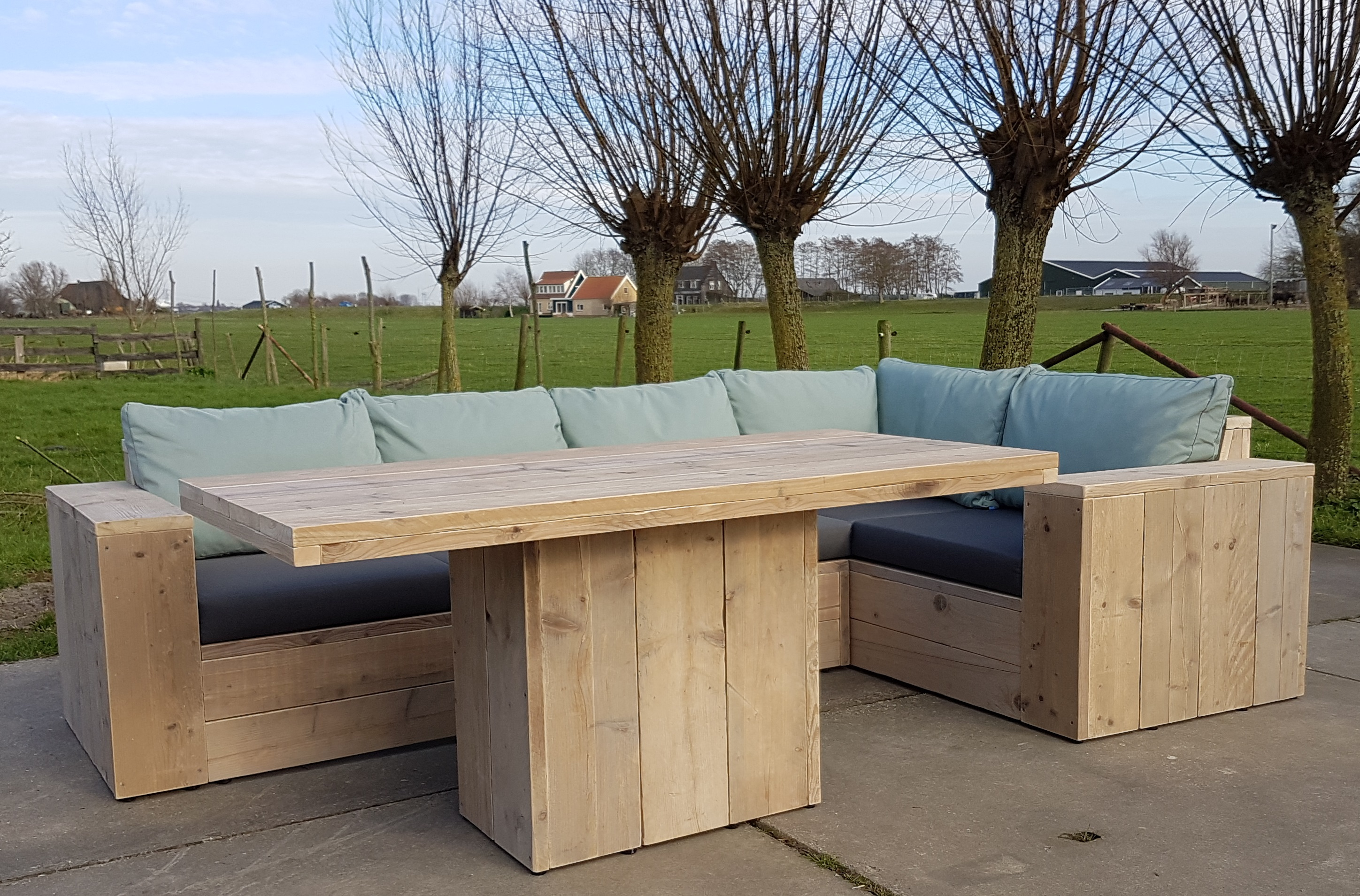Tuin Dining Sets : Dinner set tuin good good textileen lounge hoekbank with dinner