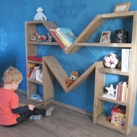 """Kinderboekenkast letterkast """"Max"""""""