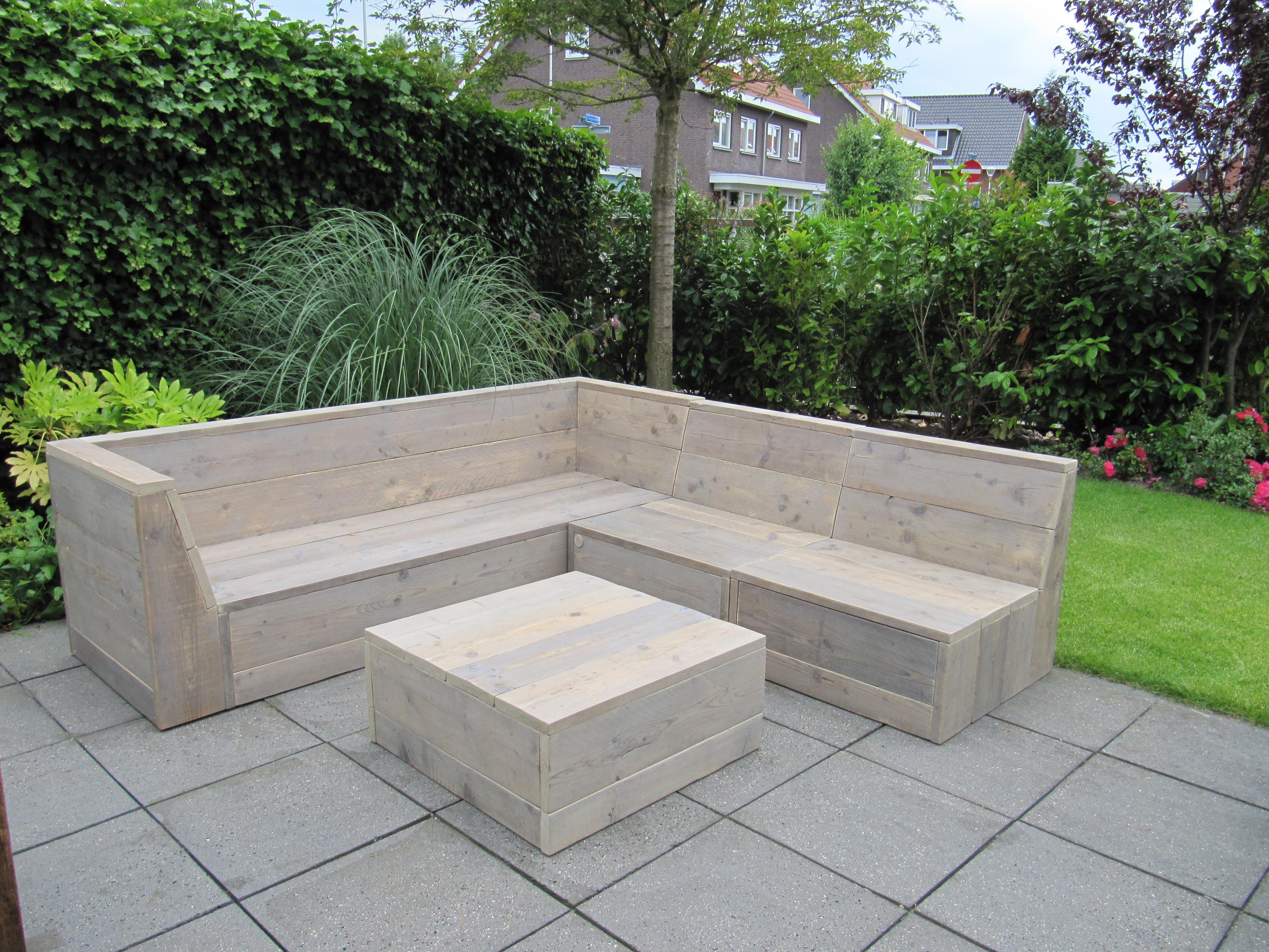 Tuinbank zelf maken eigen huis en tuin for Hoofdbord maken eigen huis en tuin