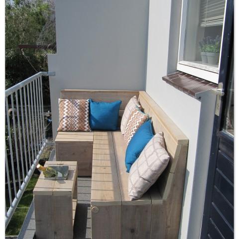 "Balkon loungebank ""Sjaan"""